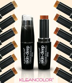 Summer is around the corner, are you covered? We recommend our Skin-Deep Lightweight Stick Foundation enriched with SPF20 to protect the skin you're in! #Summer #Foundation #SPF20 #SPF #StickFoundation #Kleancolor