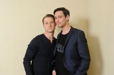 Gotham cast attend the press conference in Tokyo. / June 2015 photo : AXN Japan  Robin Lord Taylor & Ben McKenzie