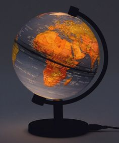 Take a look at this Blue Ocean Physical 5'' Illuminated Globe by Round World on #zulily today!20