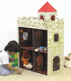 Yup - here is the little boy version of the doll house.  so pickin cute.
