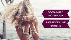 Découvrez notre Joaillerie en Pierre de Lune Bohème | Boutique Tendre Lune Boheme Boutique, Stone Bracelet, Ring, Boucle D'oreille, Life