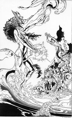 P. Craig Russell, The Scarlet Witch.