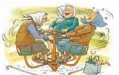 Пускай года, как ласточки, летят, Зависит возраст женщины от духа: Быть можно молодой и в пятьдесят, А можно жить и в двадцать, как старуха.