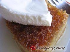 The authentic Politiko Ekmek Recipe by Cookpad Greece Greek Sweets, Greek Desserts, Greek Recipes, Dough Ingredients, Homemade Sweets, Greek Cooking, Greek Dishes, Sweet Pastries, Gourmet