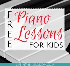 Free online piano lessons are perfect for trying the piano before spending a fortune on private lessons. Here's what we've used successfully.