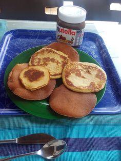 Tortitas Americanas sin gluten ni lactosa. Repostería Tximeleta