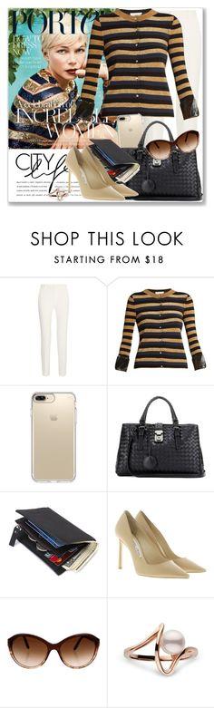 """Celeb Style: Michelle Williams"" by coraline-marie ❤ liked on Polyvore featuring Roland Mouret, Sonia Rykiel, Speck, Bottega Veneta, Jimmy Choo and Bulgari"