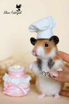 "ELENA FEDORYAK -- ""little cook"" -- Handmade."