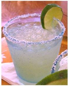 Classic Margarita - perfection!  Sadly no salt for me, but a good tequila margarita is so great!