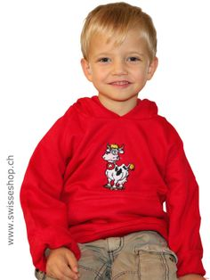 Swiss Cow Sweater (Cotton) / The sweater cotton not only looks great, because the kids love to wear it.