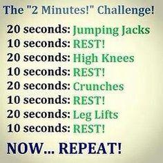 2 min challenge