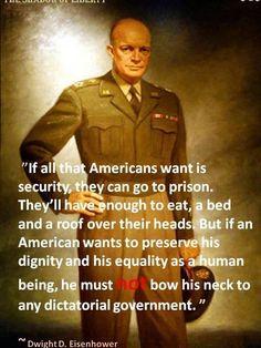 Dwight Eisenhower | #myfreedommyfamily