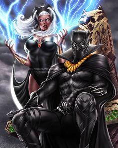 Black Panther: Black Panther & Storm