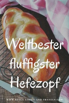 Recipe for the best, fluffiest yeast braid ever! Rezept für den besten, fluffigsten Hefezopf ever! With this recipe you can make your yeast braid super fluffy. Best Dinner Recipes, Best Cookie Recipes, Bread Recipes, Cake Recipes, Dessert Recipes, Baking Recipes, Whole30 Recipes, Pastry Recipes, Lunch Recipes