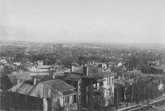 A view southeast over the avenues from Anderson Tower on A Street and 6th Avenue circa 1890. Courtesy Utah State Historical Society
