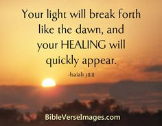 Bible Verse about Healing - Isaiah Healing Bible Verses, Healing Words, Prayers For Healing, Biblical Quotes, Religious Quotes, Bible Verses Quotes, Faith Quotes, Healing Heart, Healing Quotes