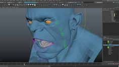 We go over how the jaw not only rotates, but it translates as well! Just to clarify from the video, the condyle of the mandible is the part of the jaw moving… Technical Artist, Character Rigging, Art Tips, Rigs, Maya, Digital Art, Animation, Bump, 2d