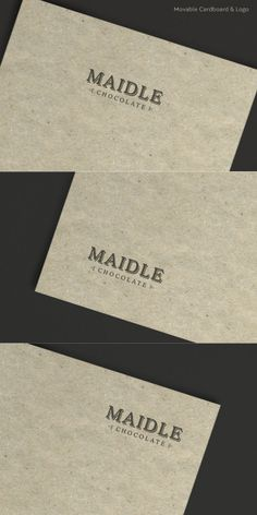 Free – Logo Mock Up 2 – Cardboard - Creative Particles