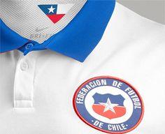 La elegante camiseta de recambio de Chile
