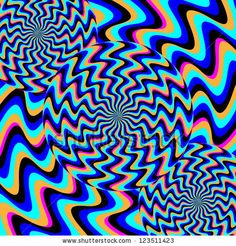 Psychosis  (motion illusion):      abstract, art, artwork, backdrop, background, blue, circle, concept, decoration, decorative, design, discs, disks, energy, fantasy, fun, graphic, illusion, illustration, modern, motion, op art, optical illusion, pattern, rotate, rotating, rotation, spin, striped, stripes, swirl, texture, vector, wallpaper, wheel, zigzag