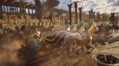 Ubisoft denies PC DRM is slowing down Assassins Creed: Origins Assassins Creed Origins, Assassins Creed Odyssey, The Legend Of Zelda, Star Citizen, Ancient Rome, Ancient History, Chariot Racing, Gladiator Fights, Circus Maximus
