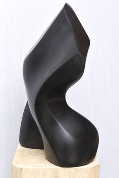Masatoyo Kishi Japanese Stone and Travertine Torso Floor Sculpture - For Sale on – This wonderful black stone sculpture that is by Masatoyo Kishi is sensual f - Elephant Sculpture, Sculpture Clay, Stone Sculptures, Crystal Garden, Contemporary Sculpture, Animal Sculptures, Travertine, Stone Carving, Ceramic Art