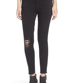 Articles of Society Womens Black Jeans