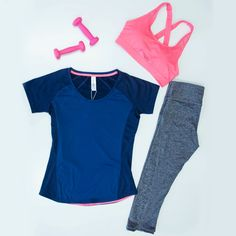 Brighten up workout blues with some colour from our activewear range!