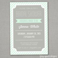 Bridal Shower Invitation on Etsy