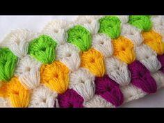 Günlük hayatın vazgeçilmezlerinden olan banyo liflerinin bir çok çeşidi var . Ben de sizlere farklı bir seçenek olabileceğini düşündüğüm bu modelin yapımını ... Crotchet Stitches, Puff Stitch Crochet, Crochet Crocodile Stitch, Knitting Stiches, Crochet Stitches Patterns, Knitting Charts, Baby Knitting Patterns, Stitch Patterns, Christmas Crochet Blanket