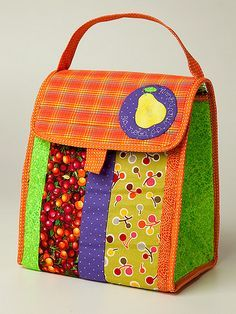 Lunch bag- make different colored! Misturinha 2