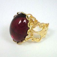 Anne Boleyn Ruby Ring