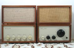 Rare KLH Model Eight and Thirteen with 2 Original by 4EyesAndEars on etsy