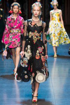 fashion Ra: Dolce & Gabbana İlkbahar  Yaz 2016