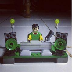 #turntable #turntablism #scratch #djlife #lego by visualize1 http://ift.tt/1HNGVsC