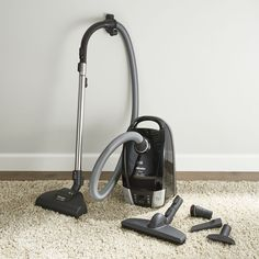 Miele Compact Onyx Vacuum Cleaner - Crate and Barrel Canister Vacuum, Best Flooring, Crate And Barrel, Crates, Compact, Home And Garden, Home Appliances, Cleaning, Design