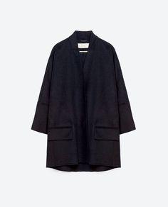 Image 8 of WOOLLEN COAT from Zara