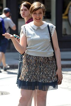 Hitchin' a Ride | Lena Dunham hung out in the streets on NYC.