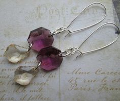 CHAMPAGNE AND WINE earrings on French wires. $12.00.  http://www.etsy.com/listing/130687456/champagne-and-wine?ref=shop_home_active