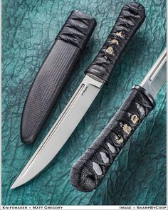 Matt Gregory knives