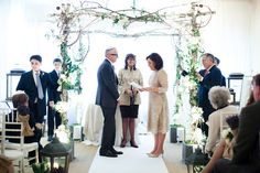 Love this Chuppah..if we decide to throw some Jewish traditions in the ceremony