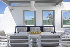 4 + 1 Bedroom Villa in Plaka area in Naxos! Proud member of Naxos Premium Outdoor Furniture Sets, Outdoor Decor, Greek Islands, Breeze, Swimming Pools, Aqua, Luxury, Bedroom, Home Decor