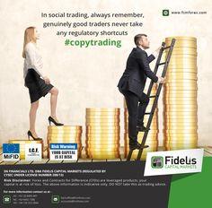In social trading, always remember, genuinely good traders never take any regulatory shortcuts. #Copytrading http://www.fcmforex.com/trading/social-trading/forex-social-trading.aspx #SocialTrading #SocialTradingPlatform #SocialTradingNetwork #BestForex trading #PlatformForBeginnerBest #AutomatedForexTradingSoftware #Automated ForexTradingSoftwareFreeDownload #AutomatedForexTradingSystem