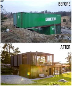 Building A Container Home, Container Buildings, Container Architecture, Architecture Design, Container Cabin, Sea Container Homes, Storage Container Homes, Cargo Container, Container Design