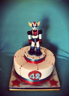 Goldrake cake, ufo robot