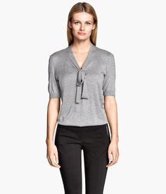 Maybe... | Lyocell-blend Top $24.95 | H&M US