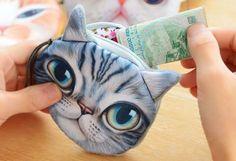 Кошельки с кошками - кошелёк Кот  / alliex.ru