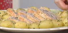 La ricetta dell'arrosto di tacchino alle nocciole ed erbette di Luisanna Messeri