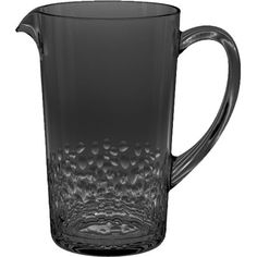 Crafted from acrylic for shatterproof appeal, this textured pitcher is perfect for the poolside bar or patio table.   Product: ...
