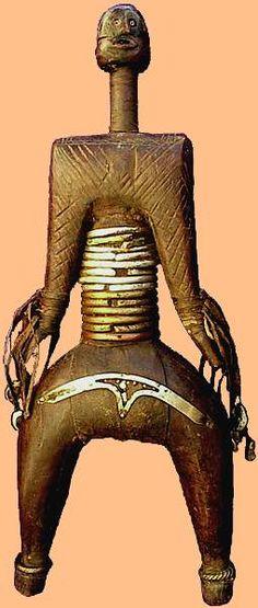 poupée de fertilité «namji» African Dolls, African Art, Africa People, African Sculptures, Art Premier, Art Object, Art And Architecture, Puppets, Furniture Decor